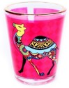 The Bombay Store Shot Glass- Quirk Camel 4529 - 60 Ml, Multicolor, Pack Of 1