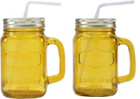 EAGLE JAR SET (500 Ml, Yellow, Pack Of 2)