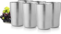 Mosaic Trendy 1DIN-TBL-TRN-S6 (300 Ml, Silver, Pack Of 6)
