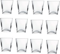 Pasabahce GP/ CARRE Whisky Glass (310 Ml, Clear, Pack Of 12)