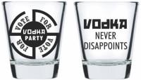 Ek Do Dhai Vote For Vodka VfvSht (60 Ml, Multicolor, Pack Of 2)