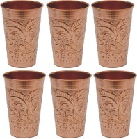 Veda Home & Lifestyle GLST111 (400 Ml, Brown, Pack Of 6)