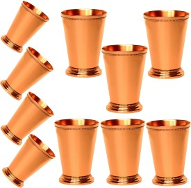 Prisha India Craft Tumbler Best Quality Moscow Mule Mint Julep Cup - Solid Gift Set of 10 tumbler106-10