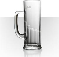 Velik Beer Mug Europa D111V194K303S0PMUG (392 Ml, Clear, Pack Of 6)