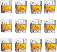 Pasabahce GP/ANTALYA WHISKY GLASS (300 Ml, Clear, Pack Of 12)