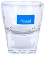 Ocean Plaza Shot Glass (55 Ml, Clear, Pack Of 12)