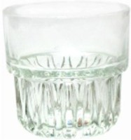 Lucky Thailand Whisky Glass (300 Ml, Clear, Pack Of 6)