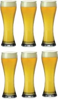 Famacart Imperial Beer FGLASS016 (475 Ml, Clear, Pack Of 6)
