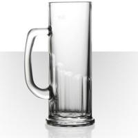 Velik Beer Mug Europa D111V194K300S0PMUG (622 Ml, Clear, Pack Of 6)