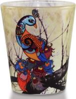 Kolorobia Graceful Glass Mug (60 Ml, Pack Of 2)