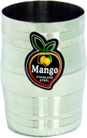 Mango Steel Glass Set Of 6 Pcs. Dholak10 (300 Ml, Silver, Pack Of 6)