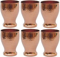 Veda Home & Lifestyle GLST130A (400 Ml, Brown, Pack Of 6)