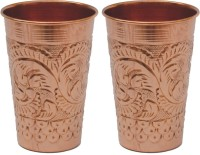 Veda Home & Lifestyle GLST112 (400 Ml, Brown, Pack Of 2)