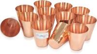 Dungri India Craft Dushotglass001-12 (72 Ml, Gold, Pack Of 12)
