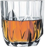 Pasabahce Temple Whisky Glass 52452N (300 Ml, Clear, Pack Of 6)