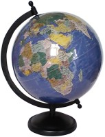 Vira Laminated With Metal Base Desk And Table Top Political World Globe (Big Blue)