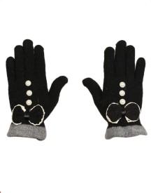 Tiekart Self Design Winter Women's Gloves
