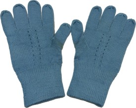 Graceway Woolen Gloves Self Design Winter Women's Gloves