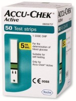 ACCU-CHEK 50 Glucometer Strips - GLTEHGG7JFHF4NHD