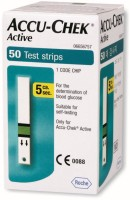 Accu-Chek Active 50 Glucometer Strips