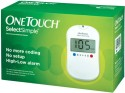 Johnson & Johnson One Touch Select Simple (Kit) Glucometer - White
