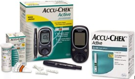Accu-Chek Active 160 Strips With Glucometer