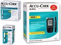 ACCU-CHEK Active Glucometer (Black)