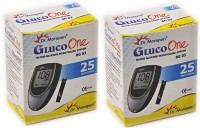 Dr Morepen Gluco One Monitoring System 25 Test Strips(Pack Of 2) Glucometer (Blue)