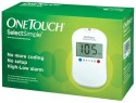Johnson & Johnson One Touch Select Glucose Monitor With 35 Strips Glucometer - White