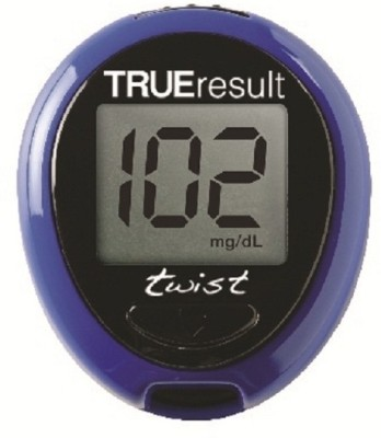 Nipro-Twist-Kit-With-Trueresult-50s-Pack-Test-Strips-Glucometer