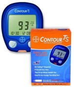 Bayer Glucometers Bayer Contour TS Meter Glucometer