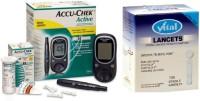 Accu-Chek Active Meter Glucometer (Green)