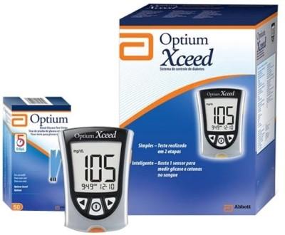 Abott Optimum Glucose Monitor Glucometer Grey