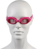 Speedo Junior Rapide Swimming Goggles (Pink, Clear)