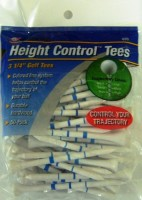 JEF WORLD OF GOLF Gifts And Gallery, Inc. Height Control Tees Golf Tees (Pack Of 50, White)