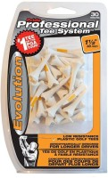 Pride Sports PTS Evolution 38 Mm. Golf Tees (Pack Of 30, White)