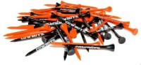 Team Golf NCAA Oklahoma State Team Tees Golf Tees (Pack Of 50, Orange, Black)