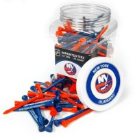 Team Golf NHL New York Islanders Tees Jar Golf Tees (Pack Of 175, Multicolor)
