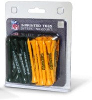 Team Golf NFL Green Bay Packers Team Tees Golf Tees (Pack Of 50, Green, Yellow)