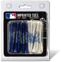 Team Golf MLB Los Angeles Dodgers Tee Golf Tees (Pack Of 50, Blue)