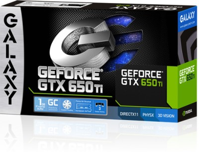 Buy Galaxy NVIDIA GeForce GTX 650TI 1 GB DDR5 Graphics Card: Graphics Card
