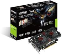 Asus NVIDIA STRIX-GTX750TI-DC2OC-4GD5 4 GB GDDR5 Graphics Card (Black)