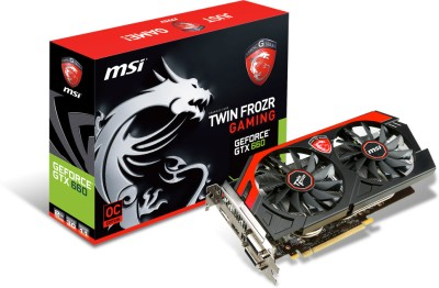 Buy MSI NVIDIA N660 Gaming 2GD5/OC (GeForce GTX 660 Gaming) 2 GB GDDR5 Graphics Card: Graphics Card