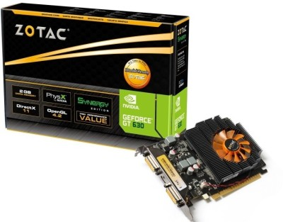 Buy ZOTAC NVIDIA GeForce GT 630 Synergy Edition 2 GB DDR3 Graphics Card: Graphics Card