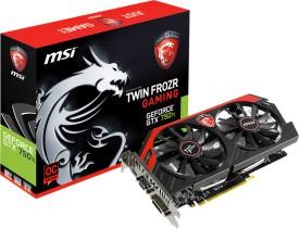 MSI TWIN FROZR GeForce GTX 750Ti/N750Ti TF 2GD5/OC 2 GB GDDR5 Graphics Card
