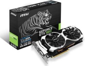 MSI NVIDIA GTX 960 2 GB GDDR5 Graphics Card