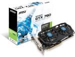 MSI N760 2GD5T/OC
