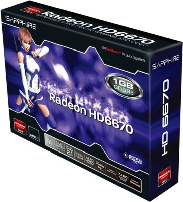 Buy Sapphire AMD/ATI Radeon HD 6670 1GB DDR5 Graphics Card: Graphics Card