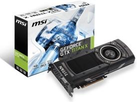 MSI NVIDIA NTITAN X 12GD5 1 GB GDDR5 Graphics Card