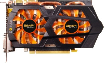 Buy ZOTAC NVIDIA GTX660 Ti 2GB AMP! Edition ( ZT-60804-10P) 2 GB DDR5 Graphics Card: Graphics Card